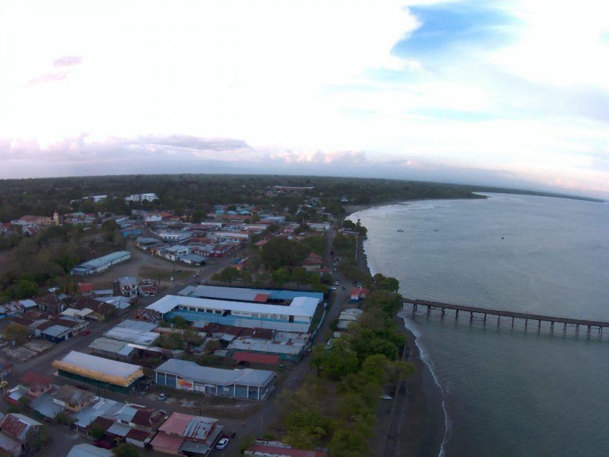 New Pier in Puerto Armuelles